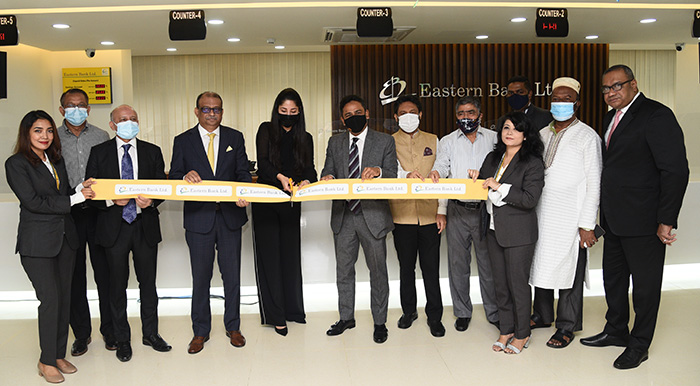 EBL inaugurates its relocated Khulshi branch in Chattogram