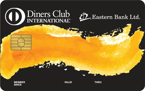 Eastern Bank Ltd Ebl Diners Club International Credit Card