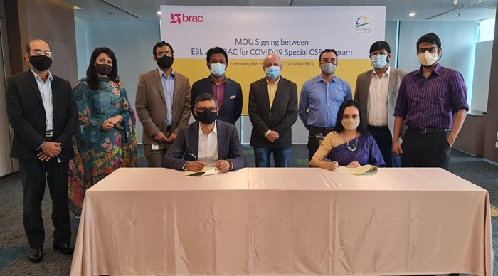 EBL and BRAC to roll out special COVID-19 CSR Program