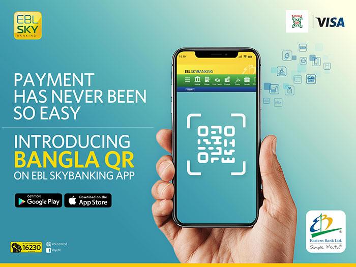 EBL launches Bangla QR Payment